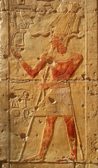 Bas-relief from the temple Hatsepsut, Egypt, UNESCO WH