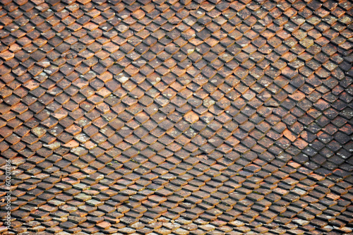 Old roof tile