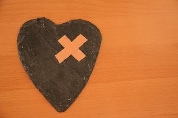 Symbol für Herzschmerz