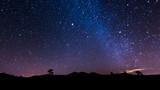 Nocny krajobraz na Teneryfie