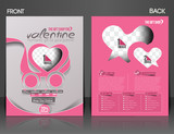 Valentine Gift Shop Flyer & Poster Cover Template
