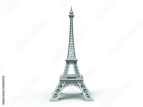eifel tower isolated