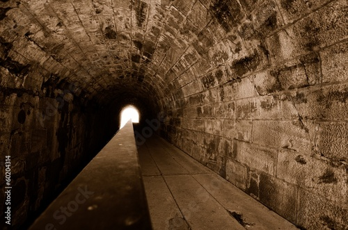 Fotobehang Tunnel Tunnel