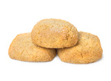 Three crisp shortbread