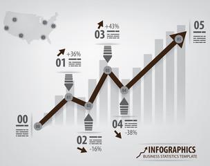 Info chart template