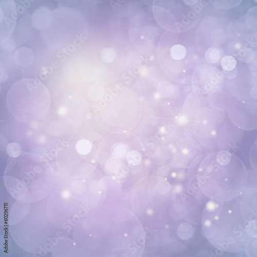 Violet Lights Festive background
