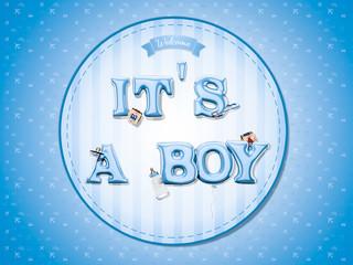Baby boy celebration