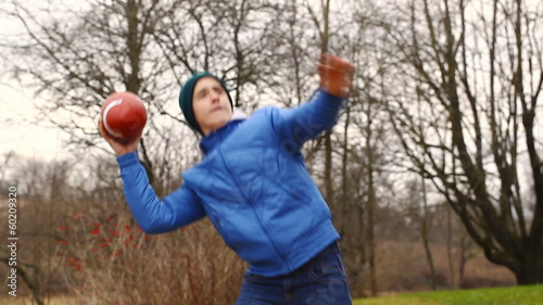 Teen with rugby ball episode 1