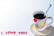 I love you tea