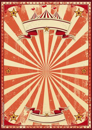 Red circus retro - 60210345
