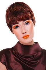 Fancy vintage make-up