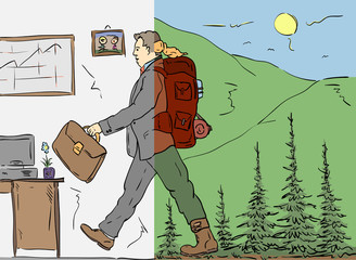 return to work from nature