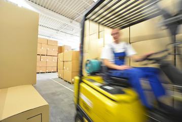 Zeitdruck in der Logistik // quickness logistics