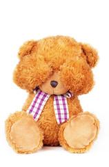 teddy bear can't see