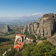 canvas print picture - Meteora