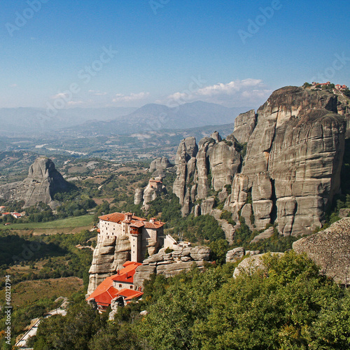 canvas print picture Meteora