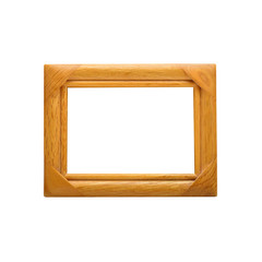 Picture frame with path