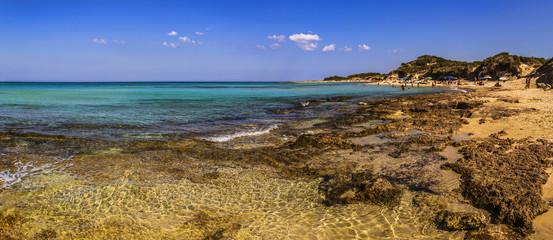 Costa salentina: riserva naturale di Torre Guaceto.-PUGLIA-