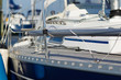 Shiny sailing boat