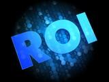 ROI on Digital Background.