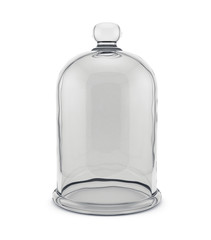Glass bell isolated