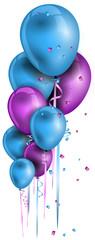 Geburtstag Party Ecke