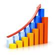Growing bar charts with arrow