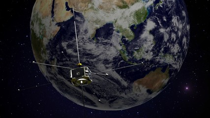 Satellite to study energy releases from Earth's magnetosphere.