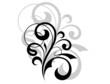 Ornate scrolling design element