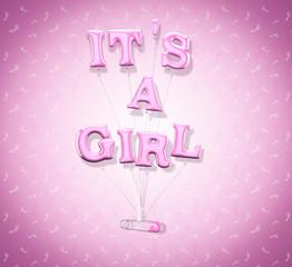Baby girl celebration.