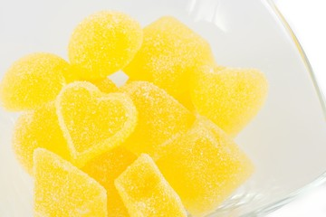 Jelly candies citrus