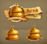 Reception Bell, vector icon