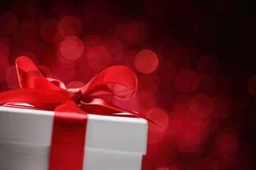 Holidays gift box