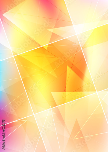 Transparent abstract background with place for text
