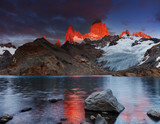 Fototapety Mount Fitz Roy, Patagonia, Argentina