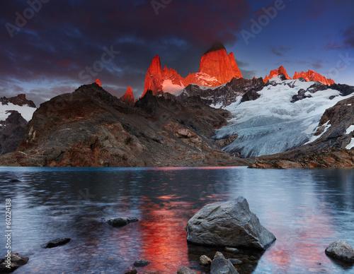 Mount Fitz Roy, Patagonia, Argentina - 60224138