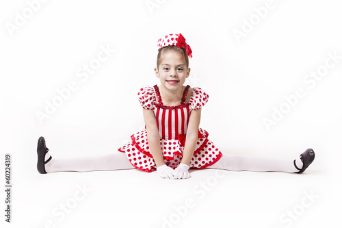 Cute Little Jazz Dancer Girl
