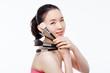 Asian woman beauty shot.