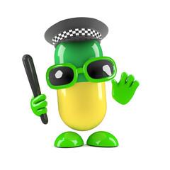 Officer pill