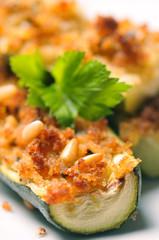 zucchine ripieni al forno