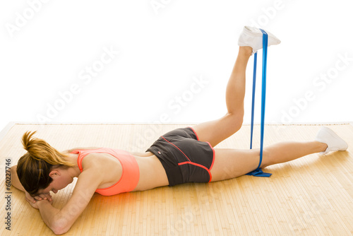 Poster Fitness Gymnastik