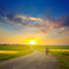 evening bikers