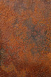 canvas print picture - Texture - Rusty Metal
