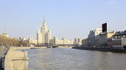 Kotelnicheskaya Embankment Building. Moscow. Russia.