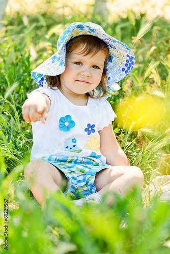summer toddler girl