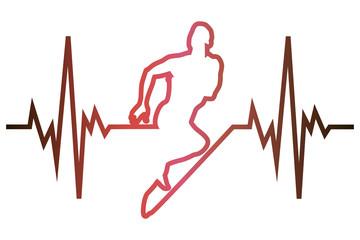 Cardiogram running