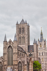 St Bavon Cathedral Ghent, Belgium, ascent to heaven