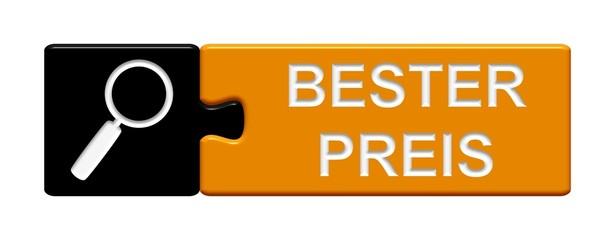 Puzzle-Button schwarz orange: Bester Preis