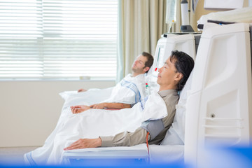 Male Patients Undergoing Renal Dialysis