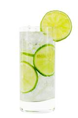 Glas mit Wasser; Beschneidungspfad